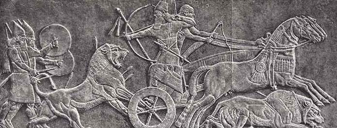 an analysis of the reliefs from the palace of king assurnasirpal ii at nimrud This fragment of relief showing the assyrian king ashurnasirpal ii (883-59 bc) and his shield-bearer was part of the decoration of the facade of the palace of nimrud in assyria.