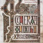 10. Lindisfarne Gospels, f. 27r