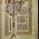 14. St Gall Gospels, f. 3r
