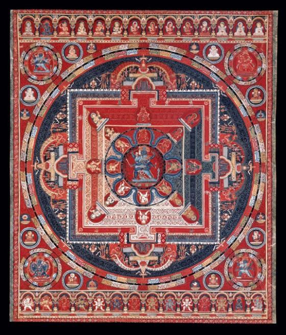 Mandala of Krishna Yamari
