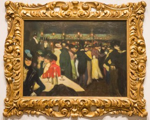 Pablo PIcasso. La Moulin de la Galette. 1900. The Solomon. R Guggenheim Museum. My favorite work to teach from in that collection.