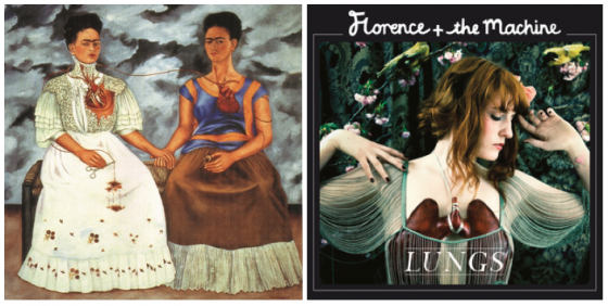 Frida Kahlo vs. Florence and the Machine