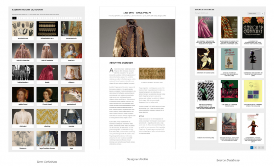 The Fashion History Timeline Rethinking Student Research As Public Scholarship Art History Teaching Resources