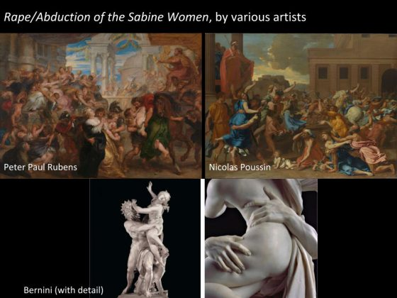 Art Historical Images of Rape (Various Artists)
