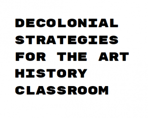 Art History Teaching Resources